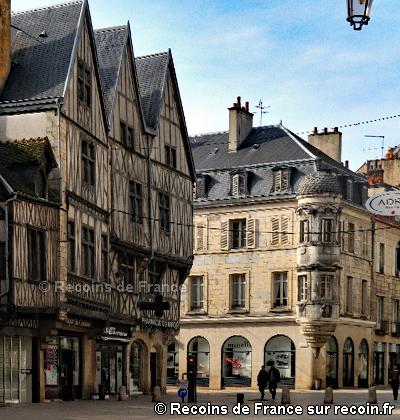 Place François Rude à Dijon