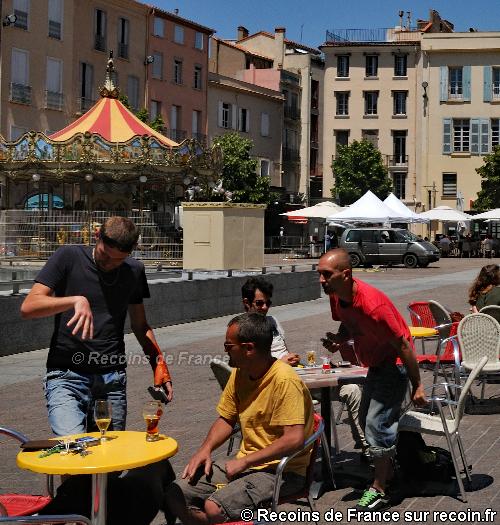 Place de la République à Perpignan