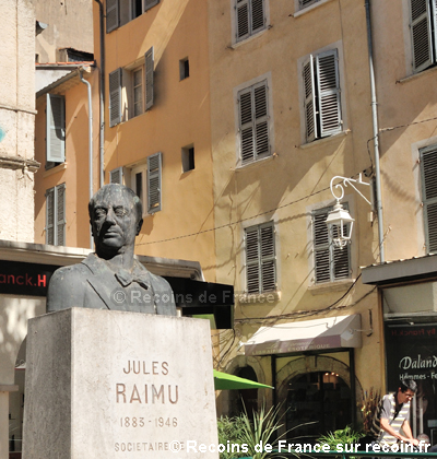 Raimu à Toulon