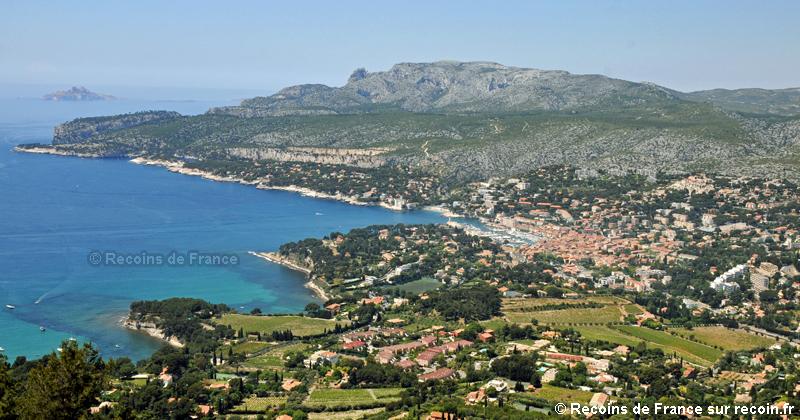 Route des cr tes cassis la ciotat sur - Distance entre marseille et salon de provence ...