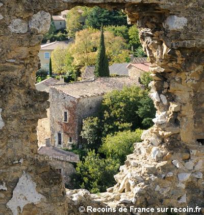 Saint Montan cité médiévale