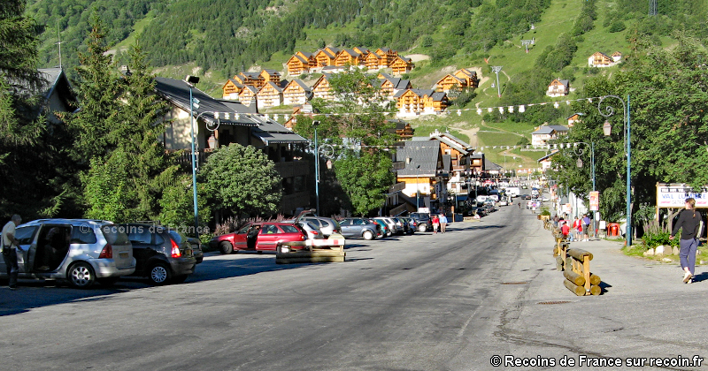 Valloire, station village