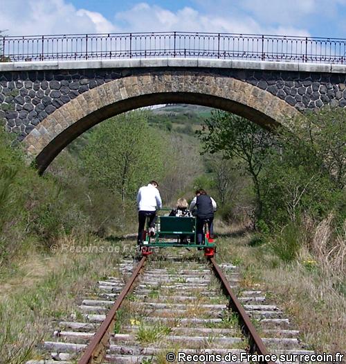 V�lo rail de Pradelles