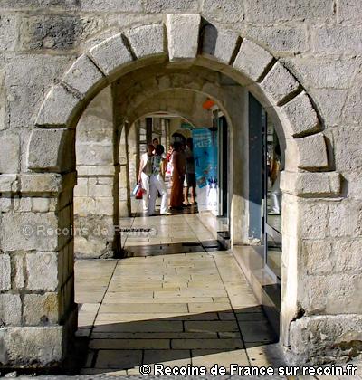 Place de l'Hôtel de Ville à la Rochelle