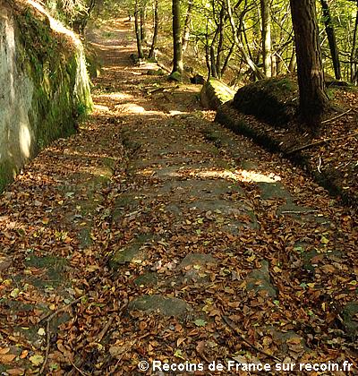 Voie romaine du Plattenweg