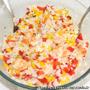 Riz aux crevettes et poivrons