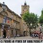 Place de l'H�tel de Ville � Aix
