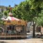Place de Montfort à Vaison la Romaine