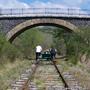 Vélo rail de Pradelles